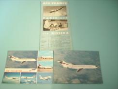 AIR FRANCE PARIS&RIVIERA - Publicités