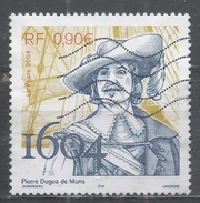 France 2004. Scott #3032 (U) Pierre Dugua De Mons, Leader Of First French Settlement In Acadia - France