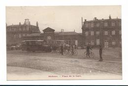 CPA 62 BETHUNE Place De La Gare - Bethune