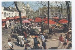 75-PARIS -  MONTMARTRE  --PLACE DU TERTRE --RECTO/VERSO-C73 - Arrondissement: 18