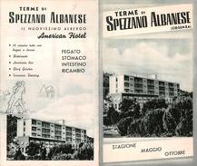 """05225 """"TERME DI SPEZZANO ALBANESE - COSENZA - 5 SORGENTI DI ACQUA PER MALATTIE DIVERSE"""" - Dépliants Turistici"""