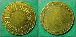 UTRECHT - F.W.V. HOEDT & Co - Rare And Uncirculated ! - Noodgeld