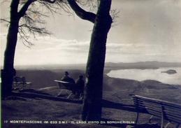 Montefiascone - Il Lago Da Borgheriglia - 17 - Formato Grande Viaggiata - E - Autres Villes