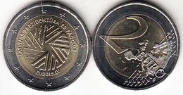 LETONIA 2015  2 EUROS  PRESIDENCIA DE LA UNION EUROPEA   NUEVA SIN CIRCULAR  RARA CN4264 - Letonia