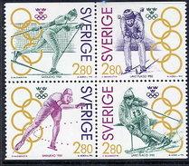 SWEDEN 1992 Olympic Gold Medal Winners II MNH / **.  Michel 1705-08 - Sweden