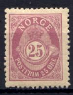 Norvegia 1893 Unif.53A */MH VF/F - Ungebraucht