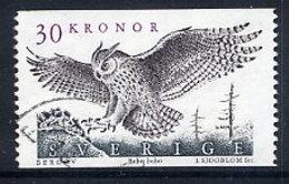 SWEDEN 1989 Definitive 30 Kr. Owl  Used.  Michel 1565 - Sweden
