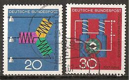 BRD 1966 // Michel 521/522 O - [7] République Fédérale