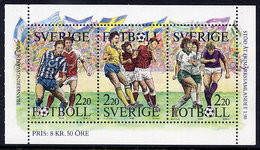 SWEDEN 1988 Stamp Day: Football MNH / **.  Michel 1505-07 - Unused Stamps
