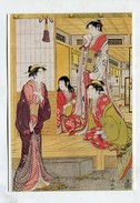 PAINTING - AK291949 Toji Kiyonaga - Ushiwaka-Maru And Princess Joruri - Pittura & Quadri
