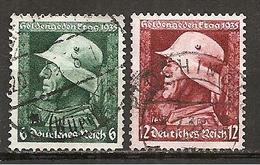 DR 1935 // Michel 569/570 O - Gebraucht