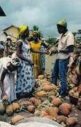 SENEGAL - Marchandes D'ananas, Gel.1965, 2 Sondermarken - Senegal