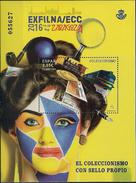 2016 Spanien    Mi. Bl 274 **MNH  Nationale Briefmarkenausstellung EXFILNA 2016 Und Europäische Sammlermesse ECC - Blocks & Sheetlets & Panes