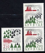 SWEDEN 1986 Europa: Environment Protection MNH / **.  Michel 1397-98 - Unused Stamps