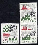 SWEDEN 1986 Europa: Environment Protection MNH / **.  Michel 1397-98 - Sweden