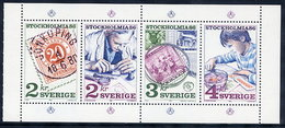 SWEDEN 1986  STOCKHOLMIA '86  IV MNH / **.  Michel 1372-75 - Unused Stamps