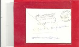 """JOLIES OBLIT """" AUXERRE .. MIRANT SES TOURS DANS L'YONNE """" ET VERSO ... """" UN CLAIR DE LUNE A .. MAUBEUGE """" + PARTITION .. - Timbres"""