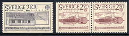 SWEDEN 1985 Europa: Music Year MNH / **.  Michel 1328-29 - Unused Stamps