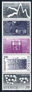 SWEDEN 1983 Nobel Chemistry Prize  MNH / **.  Michel 1262-66 - Unused Stamps