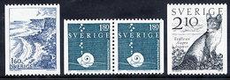 SWEDEN 1983 Nature MNH / **.  Michel 1246-48 - Unused Stamps
