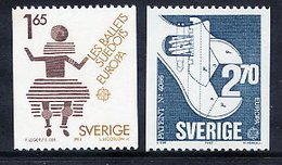 SWEDEN 1983 Europa MNH / **.  Michel 1237-38 - Unused Stamps