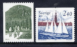 SWEDEN 1983 Nordic Countries Tourism MNH / **.  Michel 1230-31 - Unused Stamps