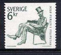 SWEDEN 1983 Nils Ferlin MNH / **.  Michel 1223 - Unused Stamps