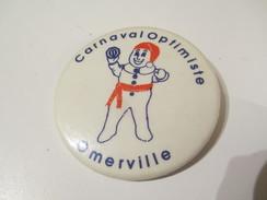 Badge événementiel Ancien /Canada /Montréal /Loisirs / Carnaval Optimiste . Omerville /  1980-85     BAD58 - Altri