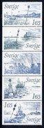 SWEDEN 1982 International Buoyage System MNH / **.  Michel 1196-1200 - Unused Stamps