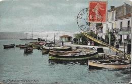 Le Port - 1908-  ** Belle Cpa Pas Courante** Ed. Aquaphoto, LV & Cie N°59 - Saint-Mandrier-sur-Mer