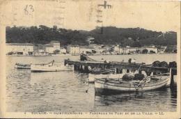Le Port - 1941 Pêcheurs Et Filets-  ** Belle Cpa Pas Courante** Ed. LL N°4 - Saint-Mandrier-sur-Mer