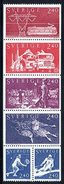 SWEDEN 1981 Sweden In The World MNH / **.  Michel 1160-65 - Unused Stamps