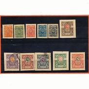 1920: - Série Complète De Novotcherkask Non Dentelée - Voir Images - Cote Y&T: 21 €