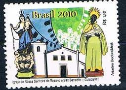 Brasilien 3771 - Pfarrkirche Von Cuiaba - Rosenkranz, St. Benedikt - Unused Stamps