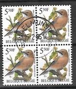OCB Nr 2526 Buzin Fauna Gaai Geai Blok Bloc  - Centrale Stempel Ingelmunster - 1985-.. Vögel (Buzin)