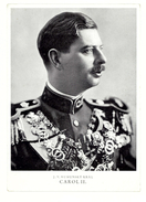 Carol II - J. V. Romunsky Kral - Romania - Roumanie - 1936 - Roumanie