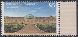 !a! GERMANY 2016 Mi. 3216 MNH SINGLE W/ Right Margin - Chateau Sanssouci, Potsdam - Ungebraucht