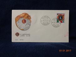 50° ANNIVERSARIO LIONS CLUB 1967 BUSTA / CARTOLINA - Aviazione