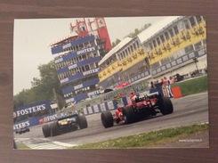 Cartolina Con Annullo San Marino Sul Retro Campionato Del Mondo Formula1 26° Gran Premio Di San Marino 23-4-2006 - Grand Prix / F1