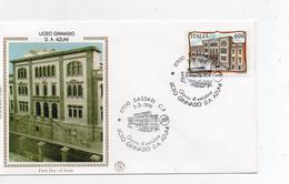 Italia - 1991 - Busta FDC - Liceo  Ginnasio D.A. Azuni - Sassari - Con Doppio Annullo - (FDC2496) - FDC