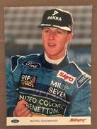 Fotografia Di Michael Schumacher Pilota Benetton - Grand Prix / F1