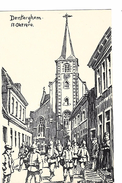 Dentergem Duitse Feldpostkarte WO I - Dentergem