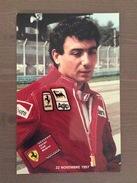 Fotografia Di Michele Alboreto Pilota Ferrari Nel Novembre 1997 - Grand Prix / F1
