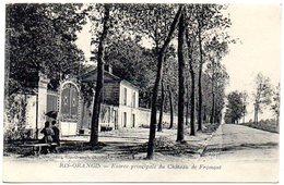 CPA 91 ( Essonne ) - RIS ORANGIS - Entrée Principale Du Chateau De Fromont - Ris Orangis