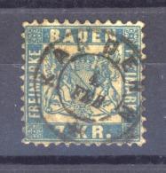 GRX  0326  -  Allemagne  -  Bade  :  Mi  25 A   (o)   Obl.  Kandern - Baden