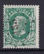 N° 30 LP 135 FRAMERIES COBA + 6.00 - 1869-1883 Leopold II