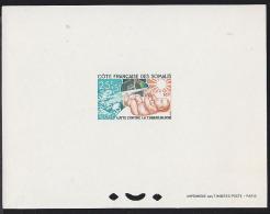 Somali Coast 1966 Baby. Fight Against Tuberculosis. Deluxe Proof. Scott B16, Yvert 324.