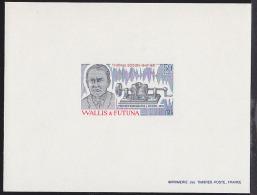 Wallis & Futuna 1981 Edison. Phonograph. Deluxe Proof. Scott 273. Yvert 275. - Imperforates, Proofs & Errors