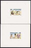Djibouti 1981 Scouts. Set Of 2 Deluxe Proofs. Scott 533-4. Yvert 539-40. - Djibouti (1977-...)