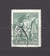 Czechoslovakia Tschechoslowakei 1938 Gest. Mi 394 Sc 245 Czechoslovakia Legions. 20.Jahrestag Der Legion. - Tschechoslowakei/CSSR